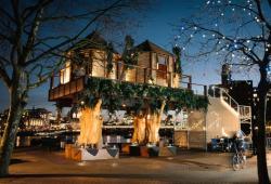 Инновационный дом на деревьях